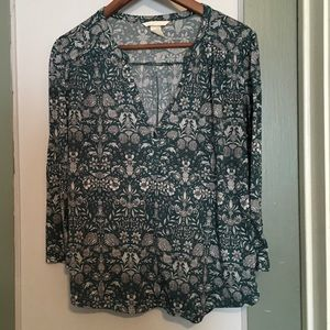 H&M Floral Tee Shirt - Women's Size Medium